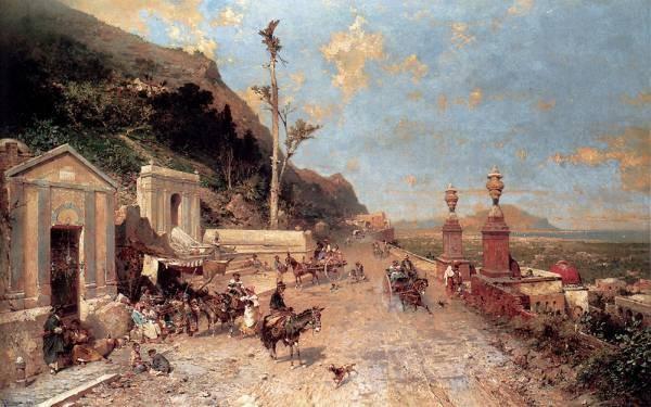 La Strada Monreale Palermo